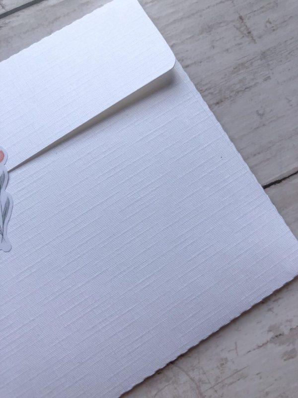 Envelope em papel telado